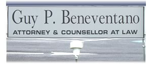 Beneventano Law Firm Sign