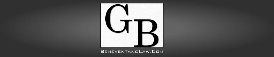 Guy Beneventano Law Home Page banner